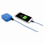 Lifeworks Technology Group IH-CT215N Portable Smartphone Charger, Blue, 4400 mAh