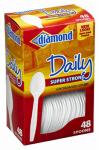 Jarden Home Brands 41426-00114 Plastic Cutlery, Spoons, 48-Ct