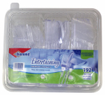 Jarden Home Brands 41426-00501 Plastic Cutlery with Caddy Tray, 192-Ct.