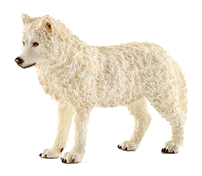 Schleich North America 14742 GRY Wolf Dog