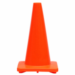 Shanghai Worth Garden Prod 6636 Traffic Cone, Orange PVC, 18-In.