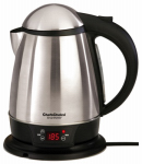 Edgecraft 6880001 Electric Tea Kettle, Cordless, 1.75-Qts.
