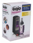Gojo Industries 8712-D1 Antibacterial Handwash Starter Kit, Plum Foam,  700-mL
