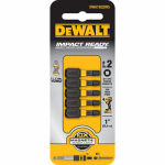 Dewalt Accessories DWA1SQ2IR5 #2 Square Impact-Ready Insert Bit, 1-In., 5-Pk.