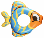 Poolmaster 81253 Pool Toy, Inflatable Fish Tube, Vinyl, Ages 3 & Up