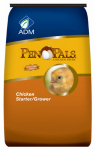 Adm Animal Nutrition 70009ACF46 Pen Pals Chicken Starter Grower, Medicated, Crumble, 25-Lbs.