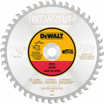 Dewalt Accessories DWA7766 Ferrous Metal Cutting Blade, 7.25-In., 48-Teeth