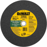 Dewalt Accessories DW8026 Masonry Cutting Wheel, 12-In. x 1/8-In. x 1-In.