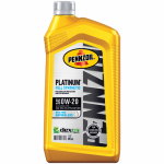 Pennzoil/Quaker State 550036541 Platinum OW20 Synthetic Engine Oil, 1-Qt., Must Purchase in Quantities of 6