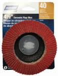 "Ali Industries 50180-038 4-1/2"" 40G Flap Disc"
