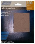 Ali Industries 50251-038 4PK 120G 1/4Clamp Sheet