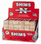 Nelson Wood Shims PSH8/12/65 Wood Shims, 8-In., 12-Pk.