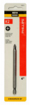 Disston 198435 Master Mechanic #2 Phillips 4-Inch Screwdriver Bit