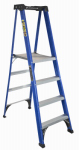 Louisville Ladder FXP4004 Step Ladder, Type II, Fiberglass, 4-Ft.