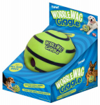 Allstar Marketing Group WG011212 Dog Toy, Wobble Wag Giggle Dog