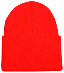 Maurice Sporting Goods KN-400BZ Hunting Beanie Hat, Blaze Orange Knit