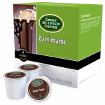 Keurig Green Mountain 108880 K-Cup Coffee, Green Mountain Dark Magic Extra Bold, 18-Ct.