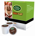 Keurig Green Mountain 109326 K-Cup Coffee, Green Mountain Half Caff Medium Roast, 18-Ct.