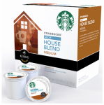 Keurig Green Mountain 120925 K-Cup Coffee, Starbucks House Blend Decaf, 16-Ct.