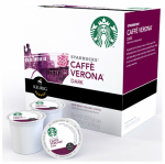 Keurig Green Mountain 112148 K-Cup Coffee, Starbucks Caffe Verona Dark Roast, 16-Ct.