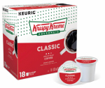 Keurig Green Mountain 114576 K-Cup Coffee, Krispy Kreme Smooth Light Roast, 18-Ct.