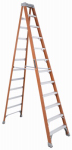 Louisville Ladder FS1512 12-Ft. Step Ladder, Fiberglass, Type IA, 300-Lb. Duty Rating