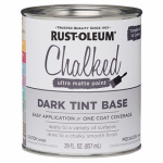 Rust-Oleum 287689 Chalked Paint, Dark Tint Base, 30-oz.