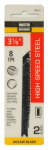 Disston 198702 2-Pack 3-1/8-Inch 8-TPI Metal-Cutting High-Speed Steel Jigsaw Blade