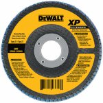 Dewalt Accessories DW8317 Zirconia Flap Disc, 60-Grit, 5 x 7/8-In.