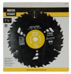 Disston 198757 7-1/4 Inch Decking Combo/Rip Circular Saw Blade