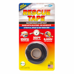 Harbor Products RT1000201201USC Rescue Silicone Tape, Self-Fusing, Black, 1-In. x 12-Ft.
