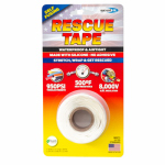 Harbor Products RT1000201203USC Rescue Silicone Tape, Self-Fusing, White, 1-In. x 12-Ft.