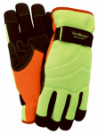 Magid Glove & Safety Mfg PGP89TL LG HiVis Lin Wint Glove