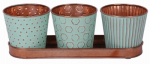 Robert Allen MPT01911 Concor 4PC MTL GDN Set