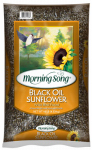 Global Harvest Foods 11996 Wild Bird Food, Black Oil Sunflower, 10-Lbs.