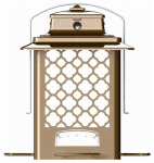 Classic Brands 105 Wild Bird Feeder, Finch, Metal, Holds 3.6-Lbs.