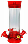 Classic Brands 43 Hummingbird Feeder, Fluted Glass, 10-oz.