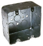 Racoorporated 683 4 x 2-1/8-Inch 2-Gang Square Box