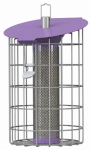 World Source Partners NC008 Roundhaus Thistle Bird Feeder, Blueberry