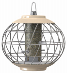 World Source Partners NC022 Helix Thistle Bird Feeder, Cream