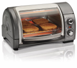 Hamilton Beach Brands 31334 Toaster Oven, 4-Slice, Roll Top