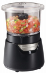 Hamilton Beach Brands 72860 Stack 'N Press Food Chopper, 3-Cup