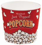 West Bend Dba/Focus Electrics PC10631 Popcorn Bucket, 3-Quart