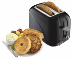 Hamilton Beach Brands 22210 Toaster, 2-Slice, Cool Touch, Black