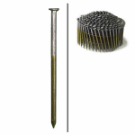 Hillman Fasteners 461744 Framing Nails, Wire Coil, Ringed Shank, Brite, 2-3/8-In. x .113, 3,000-Ct.