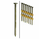 Hillman Fasteners 461741 Framing Nails, Plastic Strip, Smooth, Brite, 3-In. x .131, 2,000-Ct.