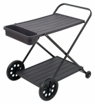 Rio Brands SVC101-TS Outdoor Serving Cart