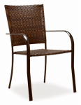 Rio Brands WC34-TS Verona Patio Collection Dining Chair, Wicker