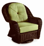 Chicago Wicker & Trading 3332-014-129-02 Wilmington Collection Swivel Glider