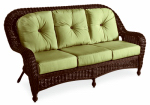 Chicago Wicker & Trading 3332-006-129-02 Wilmington Collection 3-Seat Sofa